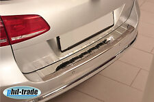Chrom VW Passat 3C B7 Variant ab 2010 Ladekantenschutz V2A Edelstahl Abkantung