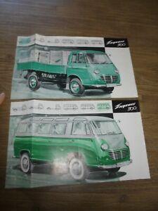Anciens Catalogues Dépliants Allemand Camion Autocar LKW Goliath Express 1100