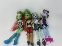 Mattel Monster High Doll Lot Of 4 OOAK