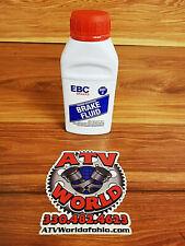 EBC DOT 4 Brake Fluid 250mL Bottle for ATV UTV Motorcycle Dirt Bike