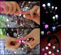 1 Pair Light Up LED earrings Studs Flashing Blinking Earrings Studs for Parties