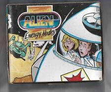 Vintage ALIEN Energy Nodes candy display box and 1 box with Card