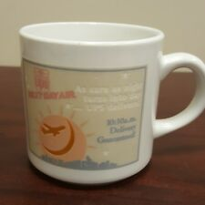UPS Next Day Air Heat Changing Company Coffee Mug Next Day Mail Delivery