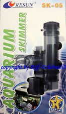 SK-05 Resun Eiweißabschäumer Nano Meerwasser Aquarien Mini Skimmer Abschäumer