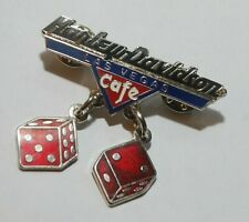 HARLEY DAVIDSON LAS VEGAS Cafe LAPEL PIN Gift-Boxed, New Old Stock from the '90