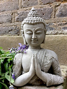 Divine Beautifully Thai Detailed Buddhas Bust  Statue , For The Home Or Garden.