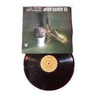Jazz: John Handy III  *1962l:Roulette R-52121 *Vinyl Mono (EX) copy