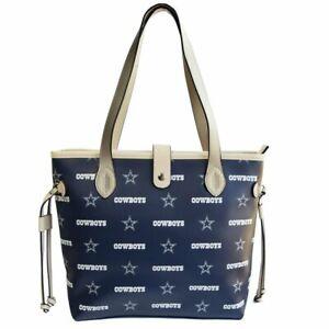 Dallas Cowboys Patterned Tote Bag Handbag