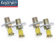 4x For Audi 80 90 100 200 Coupe Quattro Door Lock Sticker Pin 321837034B*