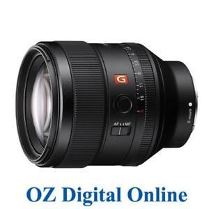 New Sony SEL 85mm F1.4 GM Lens SEL85F14GM FE Full-Frame E-Mount 1 Year Au Wty
