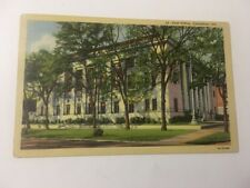 Vintage Postcard Linen Posted 1944 Post Office Columbus GA Georgia