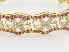 Statement Ruby Fine Bracelets