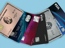 Credit Card Application Referrals 1X Chase 1X American Express 1X DISCOVER