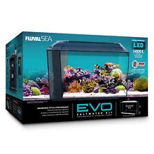 Fluval Sea EVO Marine Aquarium Tank Kit with Reef LED Lights - 52 ltr