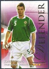 FUTERA 2010 WORLD FOOTBALL-SERIES 2- #484-NORTHERN IRELAND-JONNY EVANS