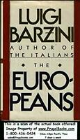 The Europeans Hardcover Luigi Giorgio Barzini