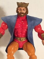 "Vintage He-Man MOTU ""King Randor CUSTOM Blue Royal Robes"" 1981, Mattel"