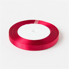 25 Yards Wedding Craft Birthday Party Satin Ribbon Sewing Decoration 6mm to 50mm