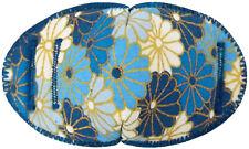 Blue/Gold Fans - Medical Adult Glasses Patch REGULAR Soft Washable sold to NHS