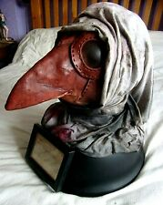 More details for plague doctor head display - life sized replica
