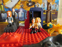 Doctor Who Micro Figure Character Building Set - 11th Dr, Amy,River,Rory,Tardis.