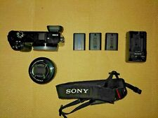 24.3MP Sony Alpha a6000 with 16-50mm Lens Mirrorless Digital Camera