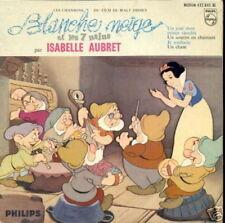 BOF BLANCHE-NEIGE EP FRANCE WALT DISNEY ISABELLE AUBRET