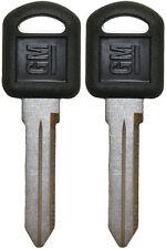 2 GM CHEVY GMC Isuzu Oldsmobile Quality OEM Key Blanks Made in the USA 596222