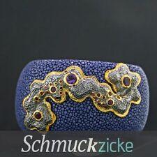 Armbänder im Armspange-Stil aus Sterlingsilber mit Edelsteinen
