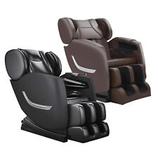 Full Body Shiatsu Electric Massage Chair Recliner Zero Gravity W/Heating&Roller
