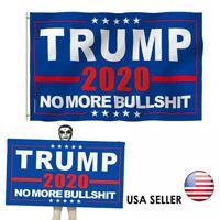 Trump Rambo Bazooka No More BS Bullshit Flag 3x5 3/'x5/' 100/% Polyester Flag