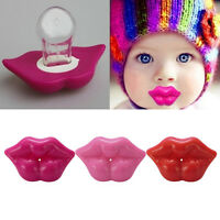1X bébé enfants Kiss silicone infantile tétine mamelons lèvres facti BB