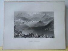Vintage Print,CLIFDEN,Scenery of Ireland,Bartlett
