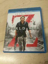 World War Z Blu-ray DVD Brad Pitt