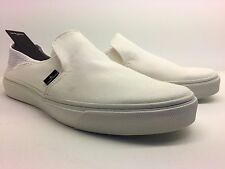 Slip on stone island sneakers en color blanco y número  EUR-44  UK-10  US-11