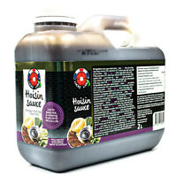 Lucky Label Hoisin Sauce aus Thailand 2 Liter Original Hoisinsauce Hoi Sin Soße