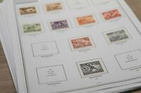 Briefmarken Vordruckblätter Deutschland BRD 1949 - 2018 Leuchtturm Lindner Hawid