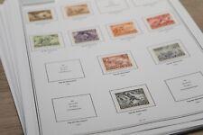 Briefmarken Vordruckblätter USA Leuchtturm 1847-1965 Stamps Lindner Kabe Safe