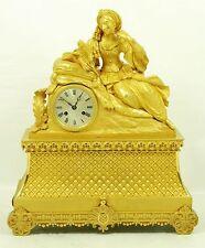 Alta finas fuego-brazaletes bronce reloj con tijeras-inhibición!!!