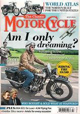 NEW! The Classic MOTORCYCLE July 2015 Geoff Duke Kreidler 50cc Norton Atlas s100