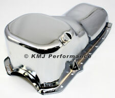 64-80 Oldsmobile 350 455 Chrome Oil Pan - Baffled 5qt 330 400 425 V8 Olds