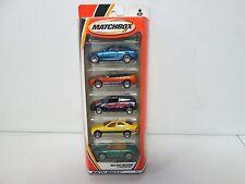 Matchbox 5 Pack Gift Set Major Motion with Porsche & Mercedes 284