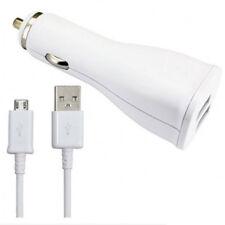 Alimentatore Samsung da Auto Ep-ln920 Caricabatteria Bianco 2 prese USB