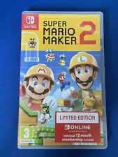 Super Mario Maker 2 -- Limited Edition Nintendo Switch