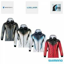SHIMANO SH-013T Fishing Zip Up Print Hoodie LIMITED PRO From Japan with Tracking
