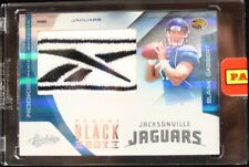 Blaine Gabbert 2011 Absolute 1/1 Logo Shield Patch Panini Black Box Las Vegas RC