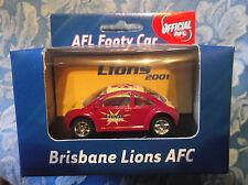 AFL Brisbane Lions Beetle Footy Car