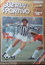 RIVISTA=GUERIN SPORTIVO=N°5 1979=FILM DEL CAMPIONATO DOPPIO=POSTER STORY MILAN