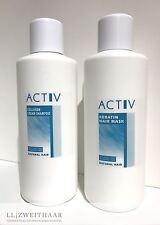 GFH ACTIV Pflegeset Echthaar Perücken CollagenCream Shampoo + Keratin Hair Mask