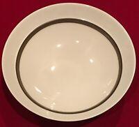 "DANSK Lucia Stoneware 7 1/8"" Bowls Crackle Pattern Brown Verge Lot of 6 EUC"